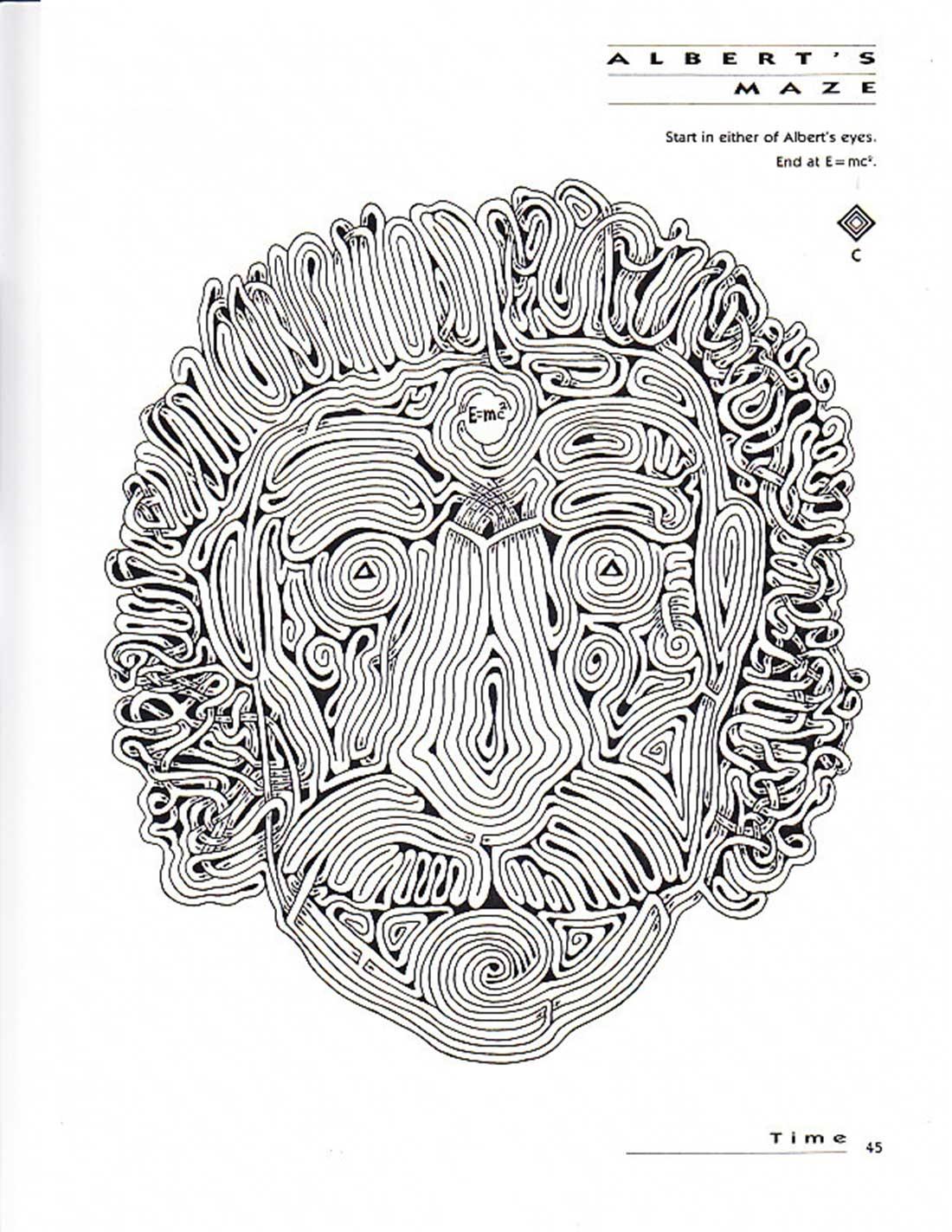 David Russo / Einstein Portrait / S+S Mazemaster Book Series