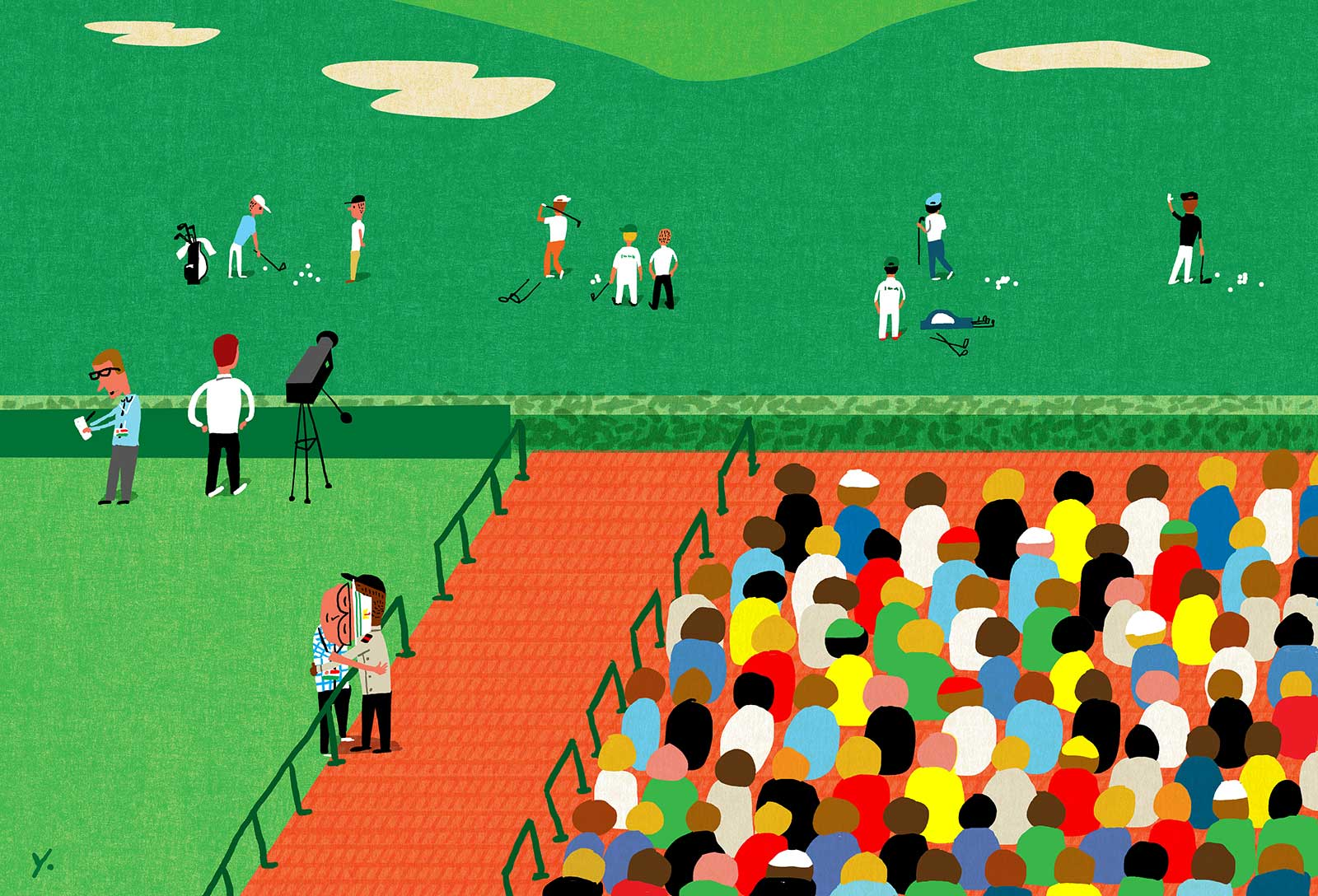 James Yang / First Impression of the Masters / Golf Digest