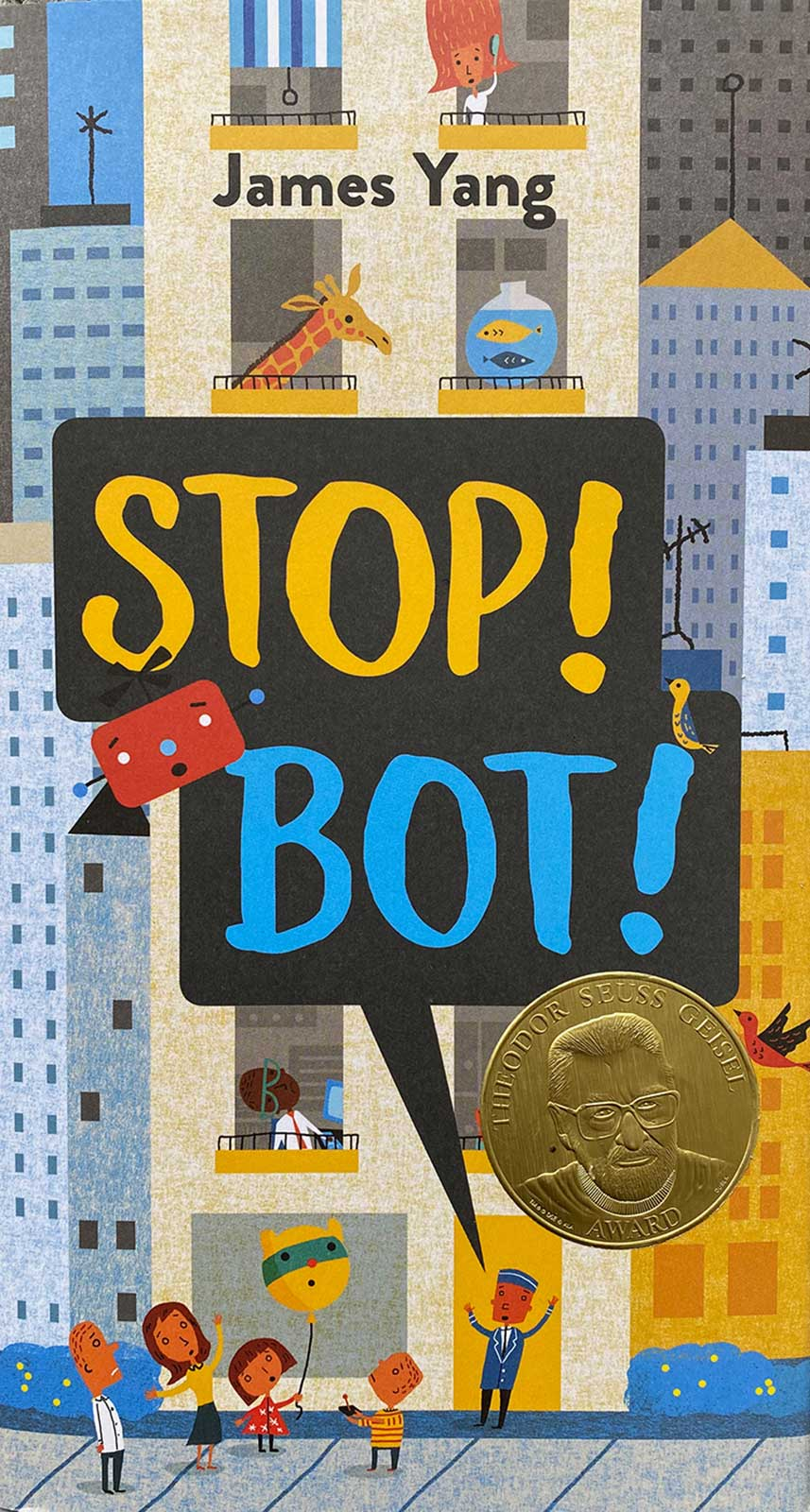 James Yang / Stop! Bot! / Viking/Penguin Young Readers