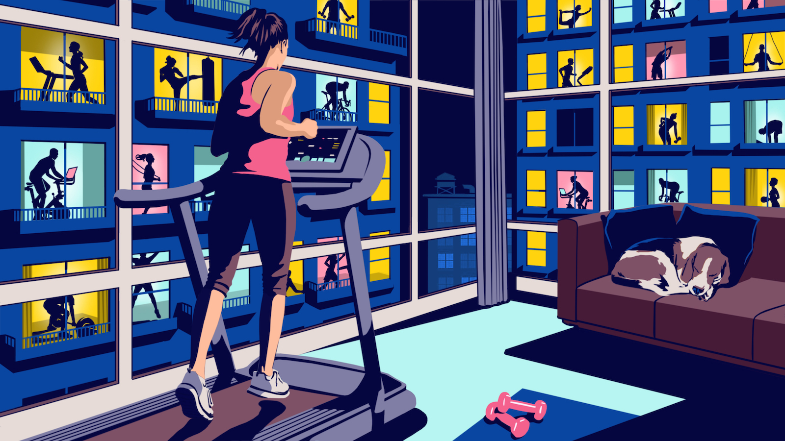 Bill Butcher / Virtual Exercise / Financial Times Life & Arts