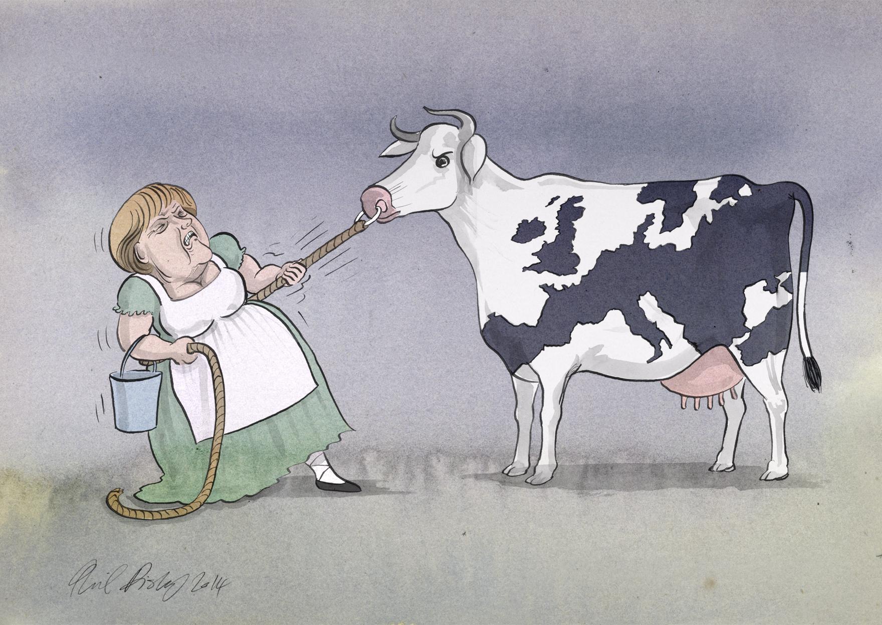 Phil Disley / Milkmaid / The Guardian