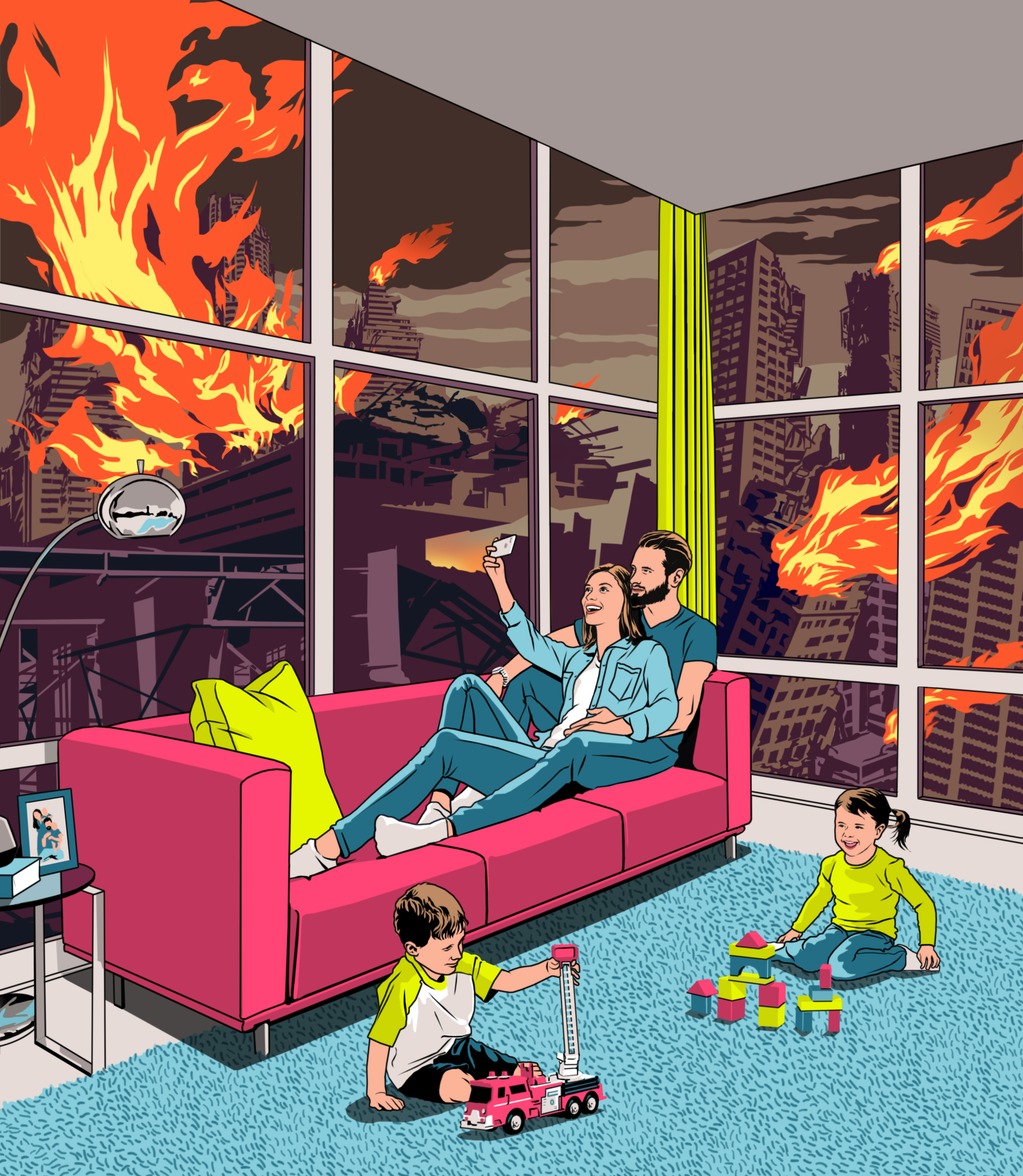 Bill Butcher / Nesting in a Crisis / Las Vegas Weekly