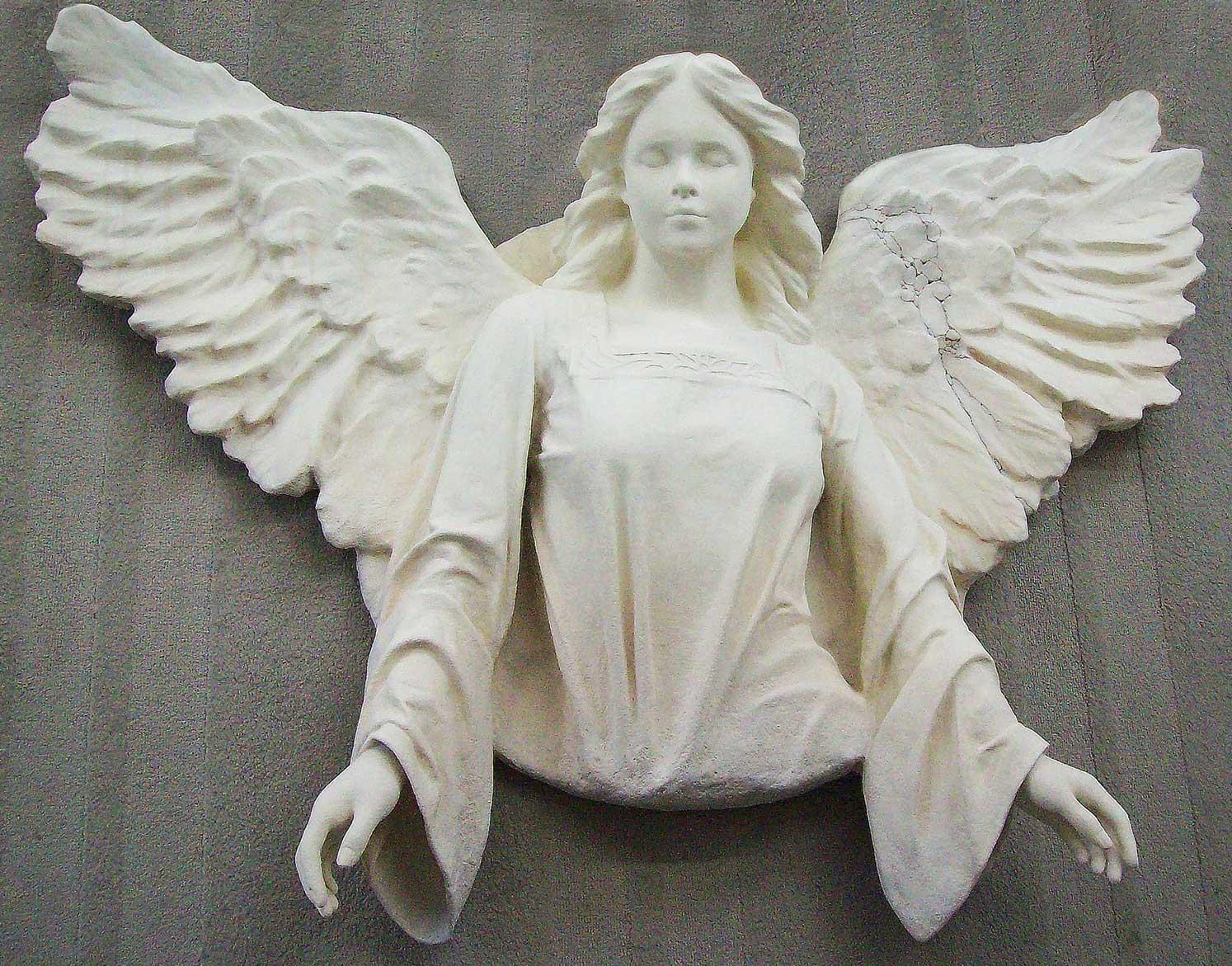 Ron Rundo / Angel / Epoxy Sculpture / Private Collector