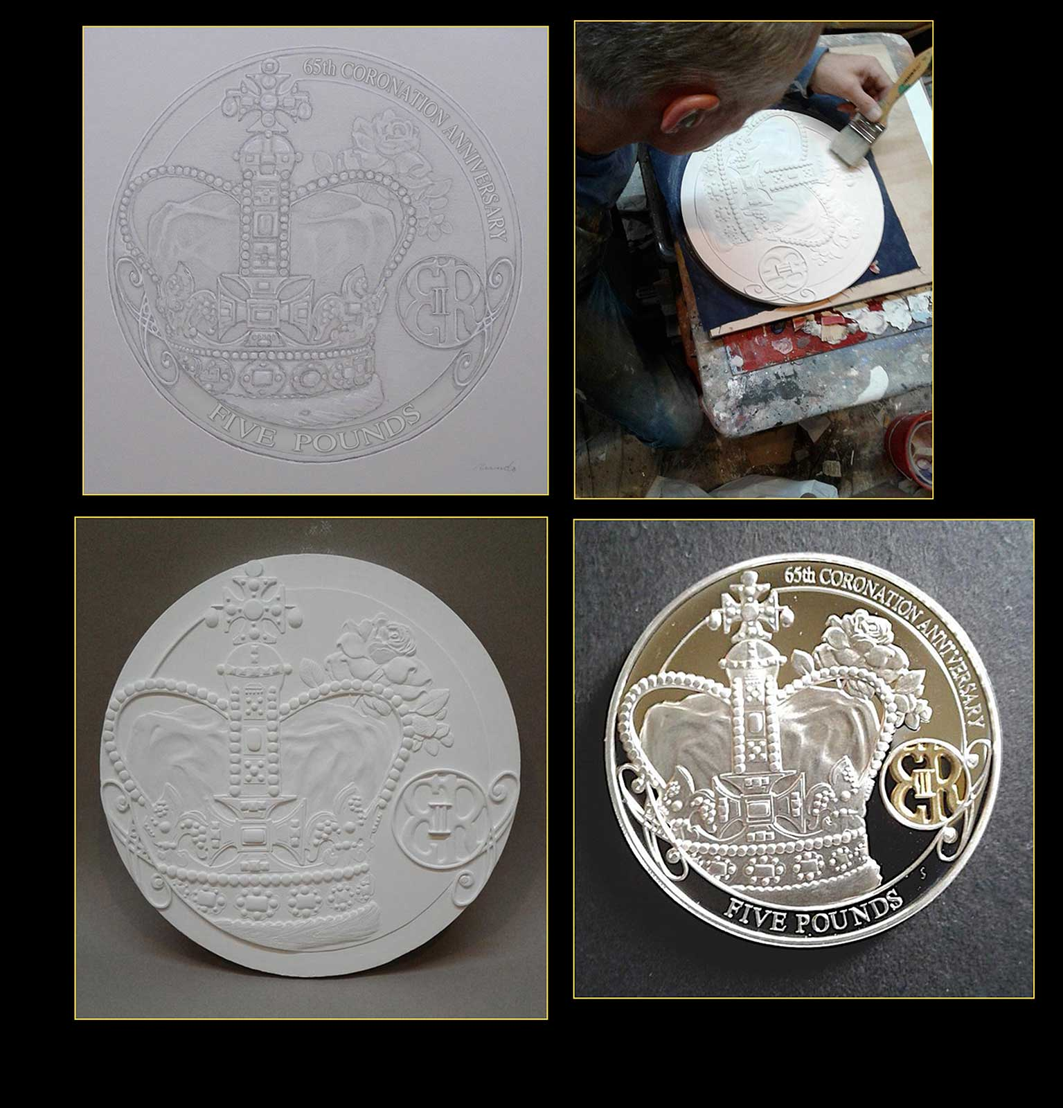Ron Rundo / Coin / Queen Elizabeth 60th Anniversary / Westminster Collections