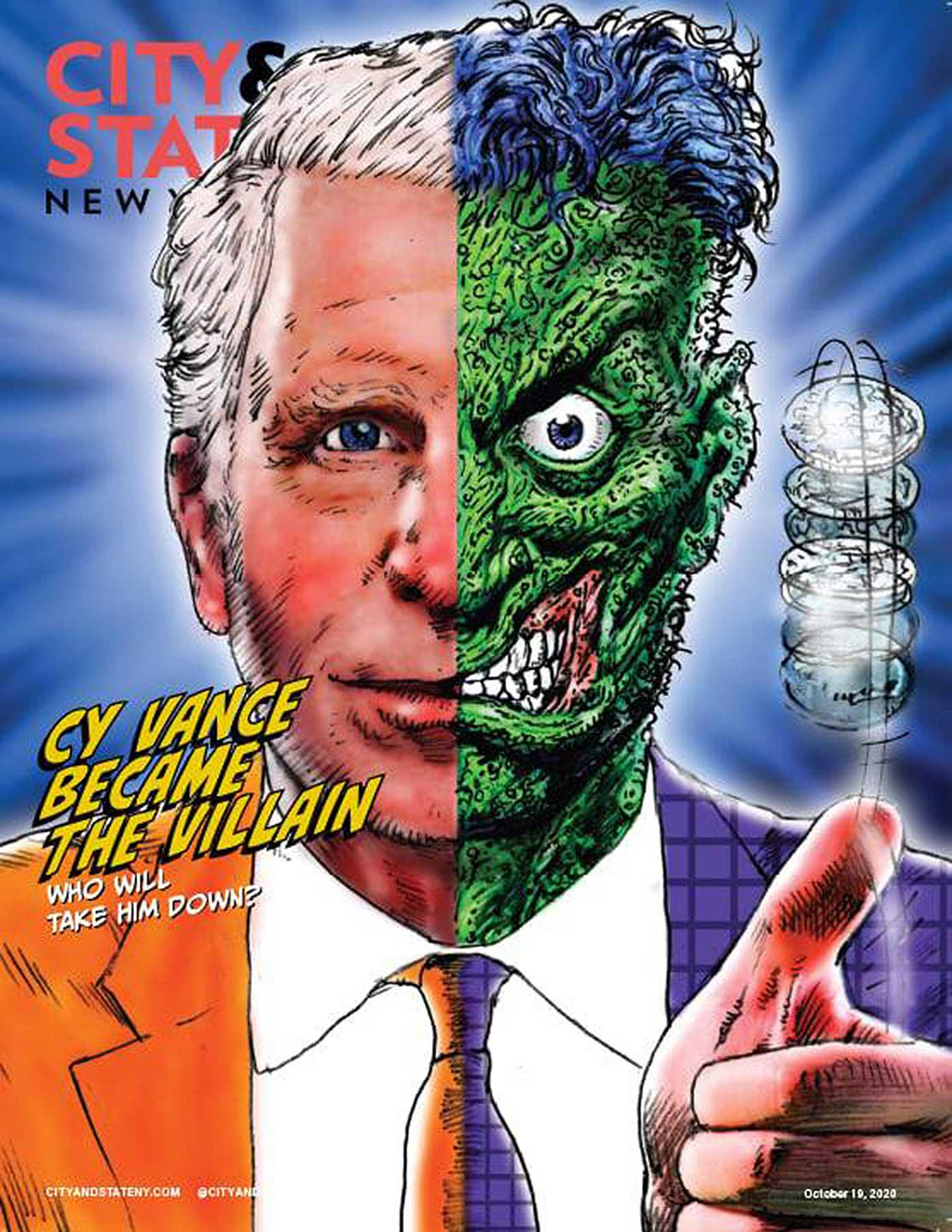 Arlen Schumer / City & State Magazine Cover / Andrew Horton, AD