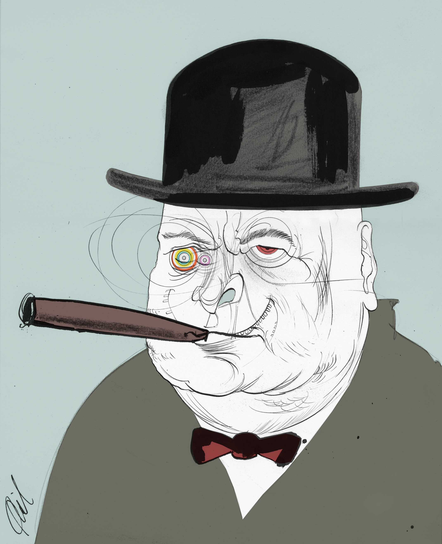 Phil Disley / Mad Churchill / The Guardian