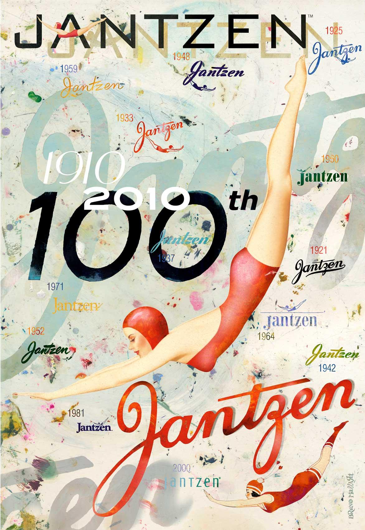 Bruno Mallart / Jantzen Anniversary 1910-2010 / Jantzen Swimsuits