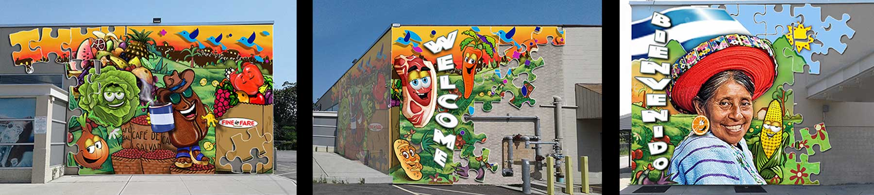 Ron Rundo / Mural / Commission / Fine Fair, NY