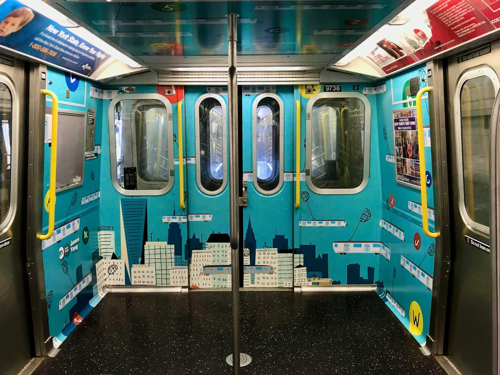 James Yang / Wallpaper / NYC Subway / MTA