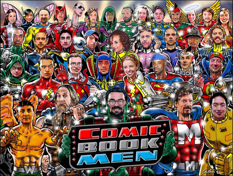 Arlen Schumer / Comic Book Men / Poster / AMC TV