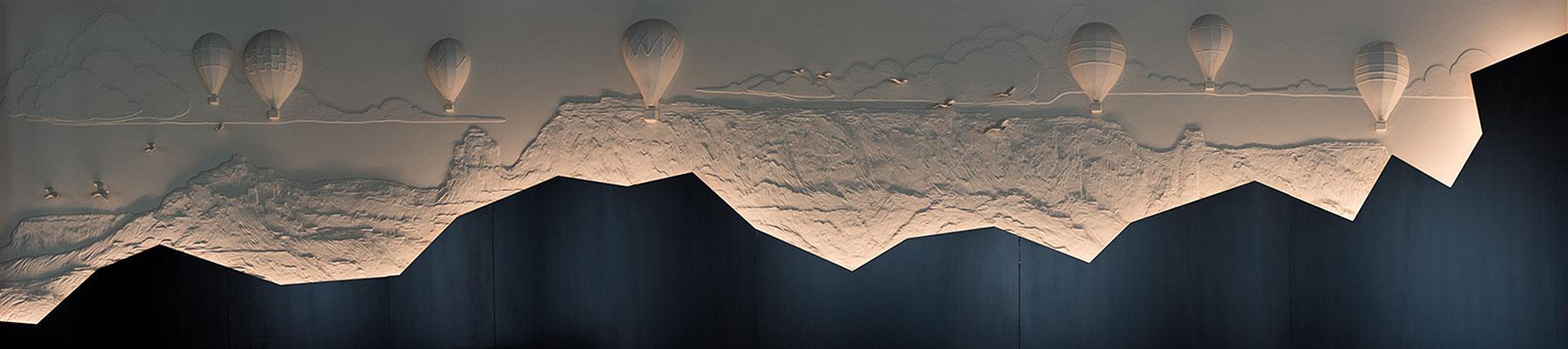 Ron Rundo / Balloons / Wall Sculpture