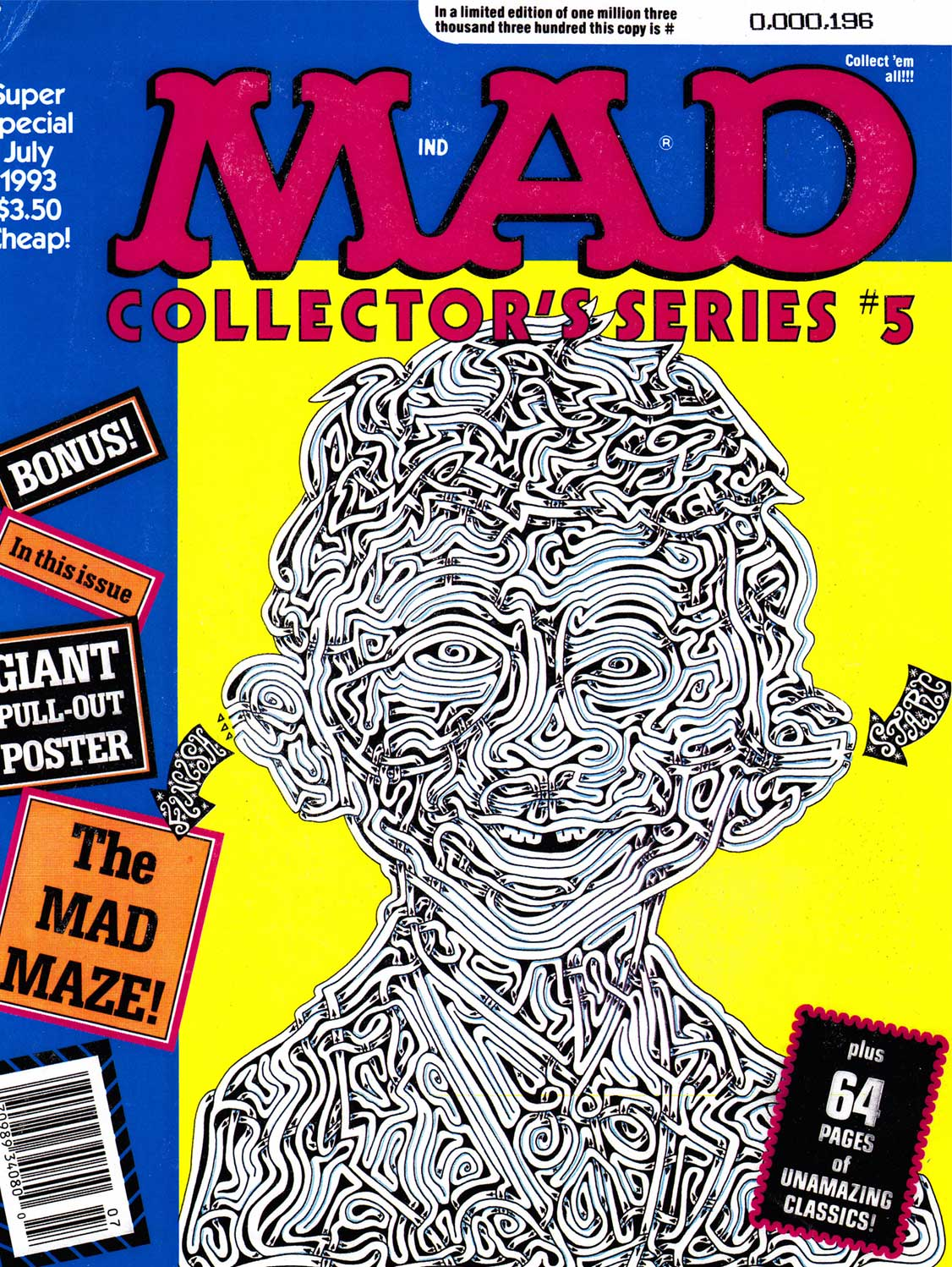 David Russo / Alfred E. Neuman / MAD Collector's Edition