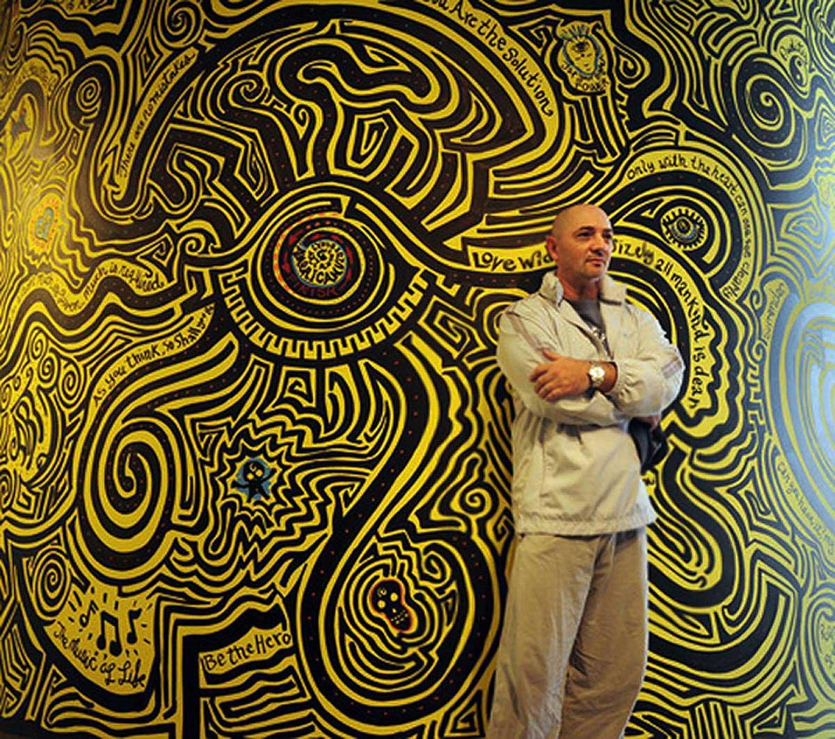 David Russo / Wall Maze / American Visionary Art Museum