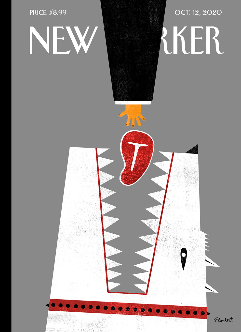 David Plunkert / Red Meat / The New Yorker