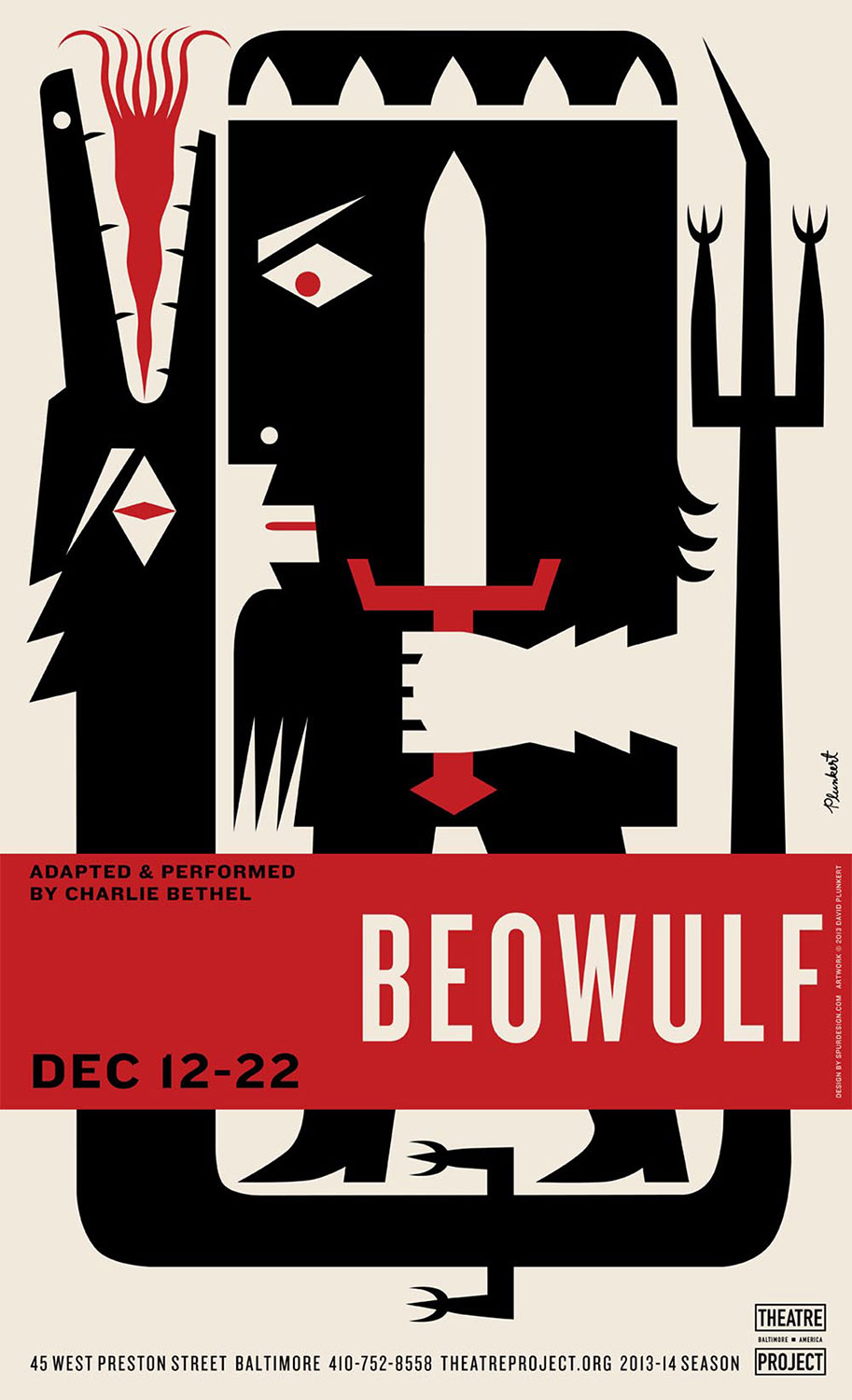 David Plunkert / Beowulf / Theater Project