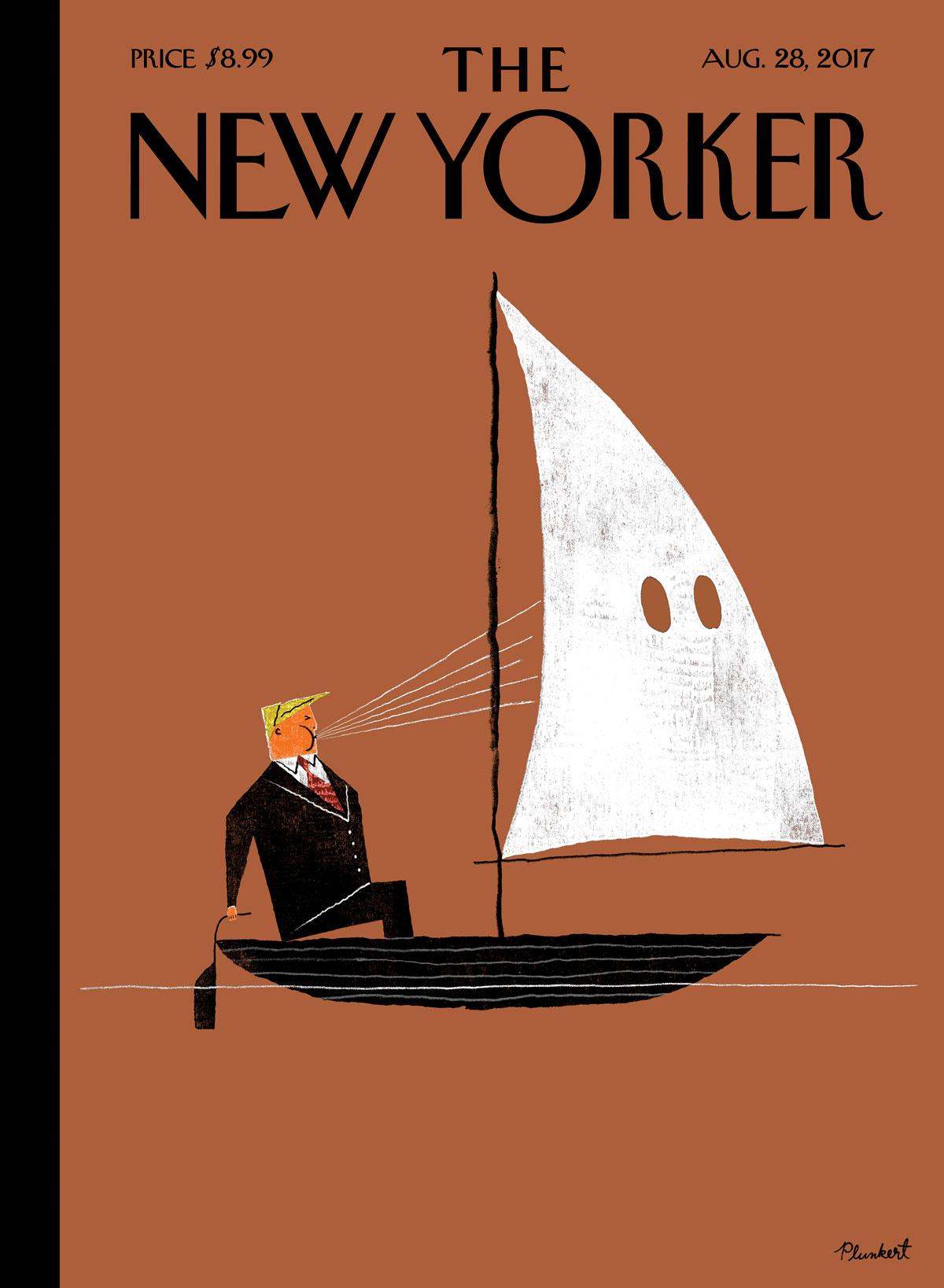David Plunkert / Blowhard / The New Yorker MagazinePhil Disley / Michael Cohen / The Spectator