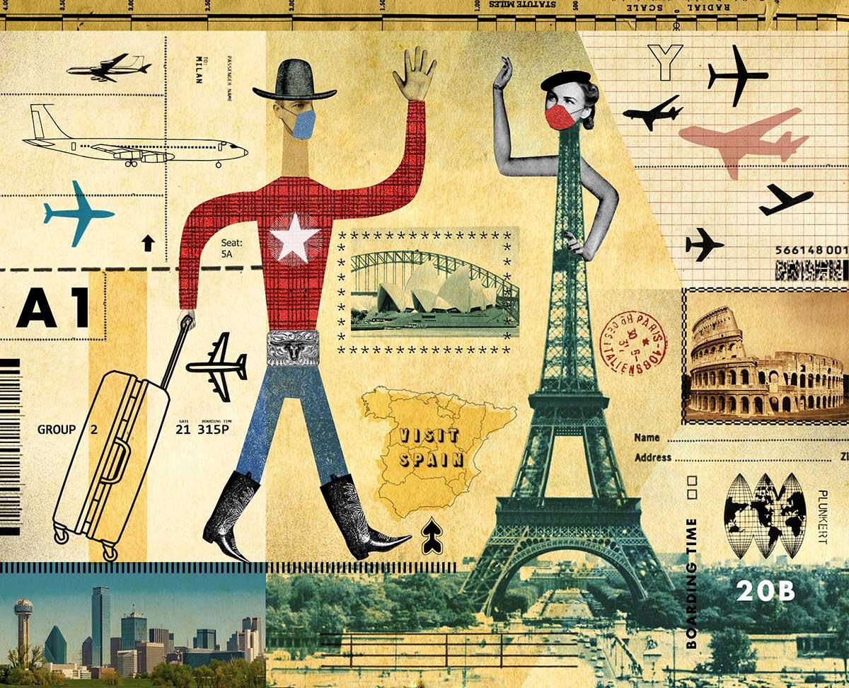 David Plunkert / Dallas Air Travel