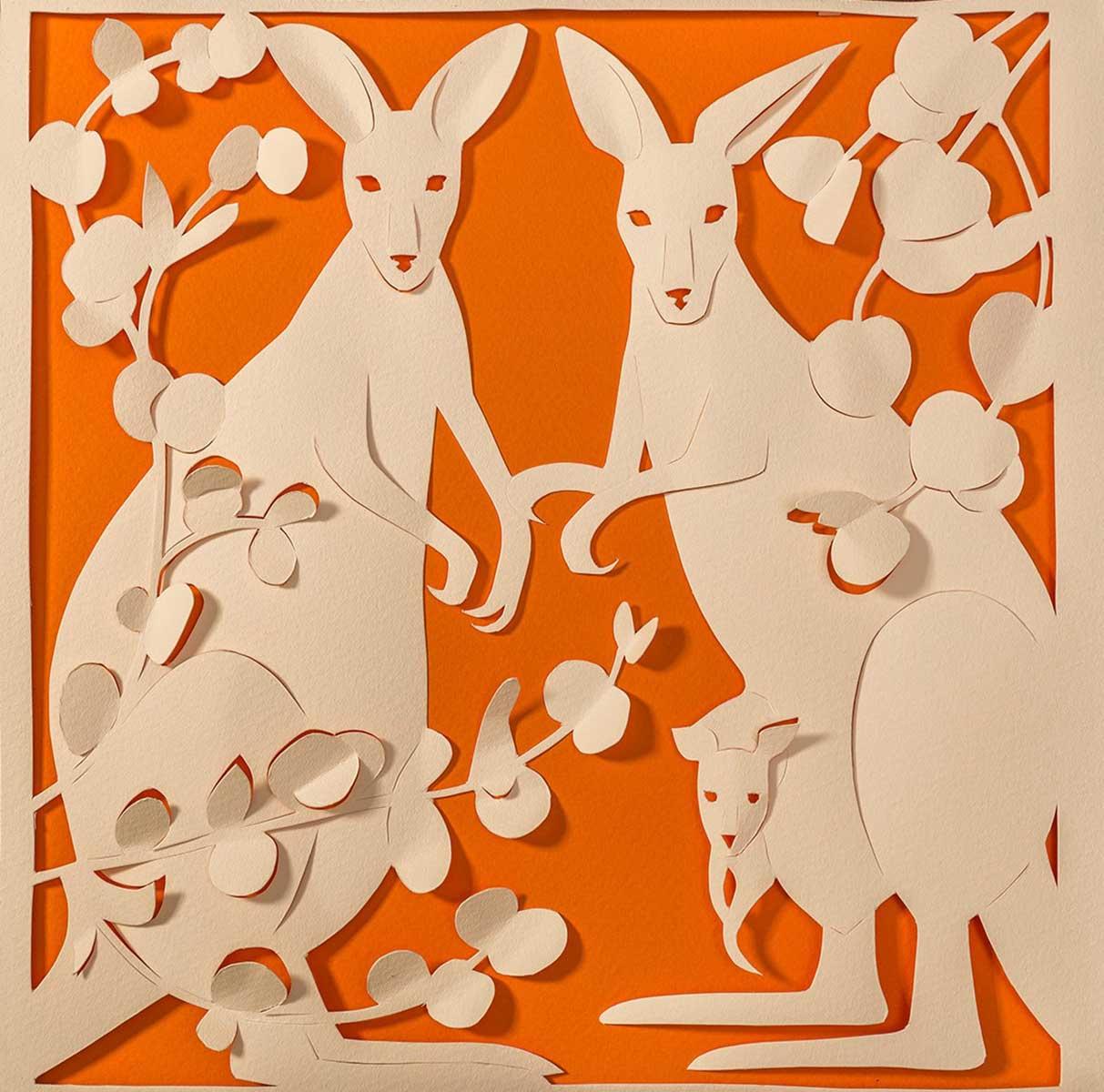 Boo Patterson / Kangaroos - Papercut This Book