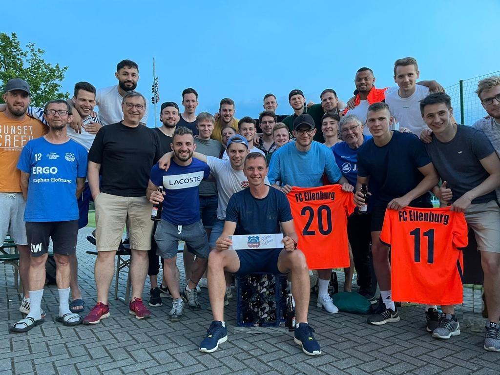FC Eilenburg bedankt sich bei neun Kickern