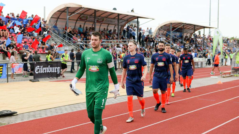 FC Eilenburg bedankt sich bei WOSZ und JAKO