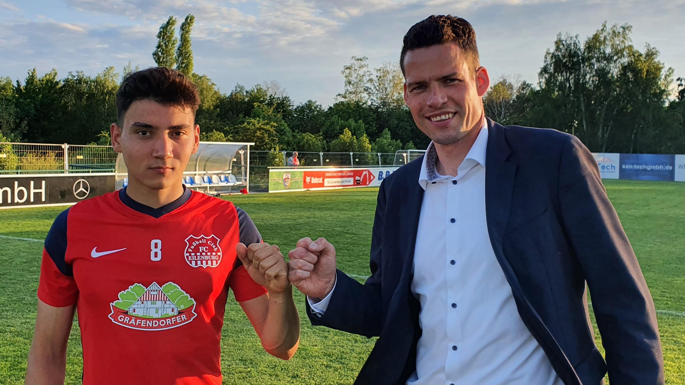 Anton Rücker kehrt zum FC Eilenburg zurück