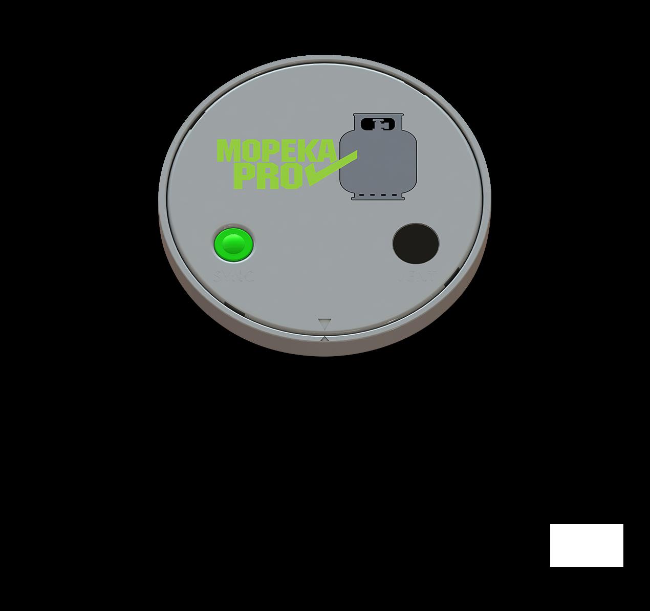 Mopeka Pro monitor image