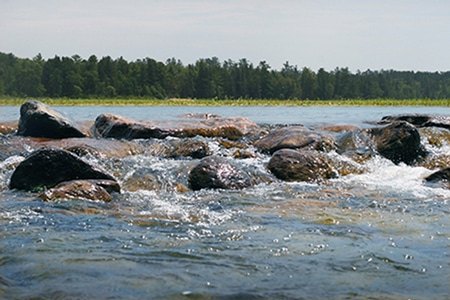 Itasca headwaters of the Mississippi