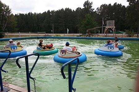 Evergreen Fun Park water fun within driving distance of the B&B
