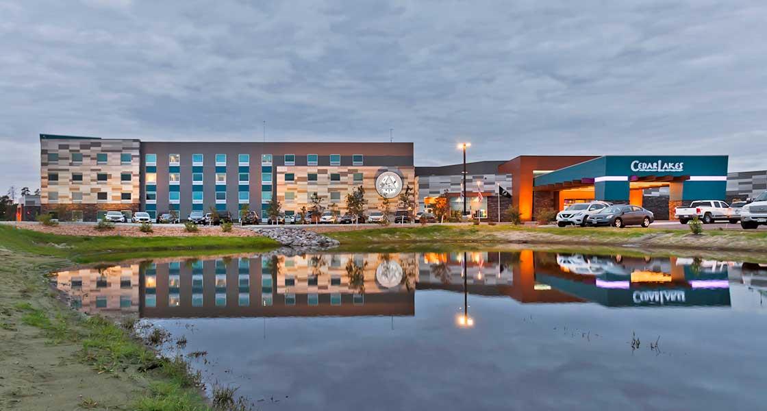 Cedar Lakes Casino in Cass Lake, just a short drive from Leech Lake Resort B&B