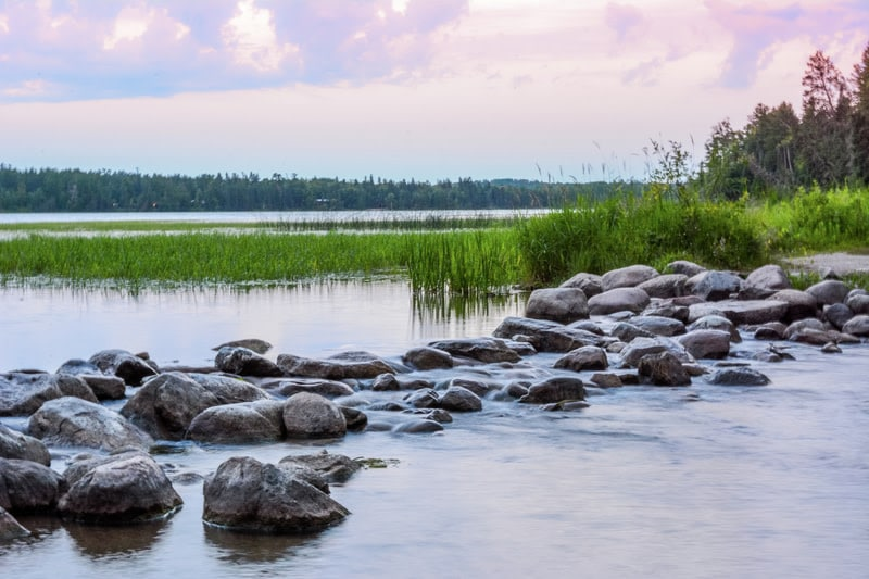 Itasca headwaters of the Mississippi River
