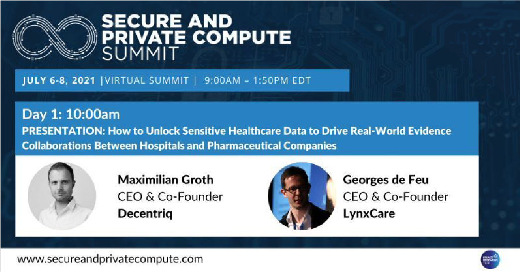 LynxCare and Decentriq on unlocking sensitive healthcare data to drive RWE collaborations