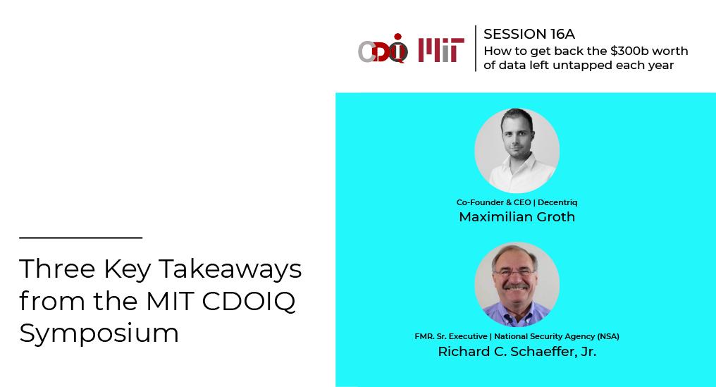 Three Key Takeaways from the MIT CDOIQ Symposium