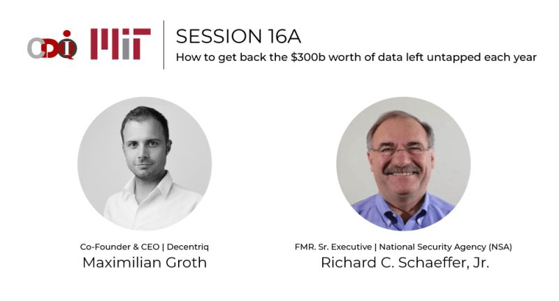 MIT CDOIQ Symposium - How to get back the $300b worth of data left untapped each year