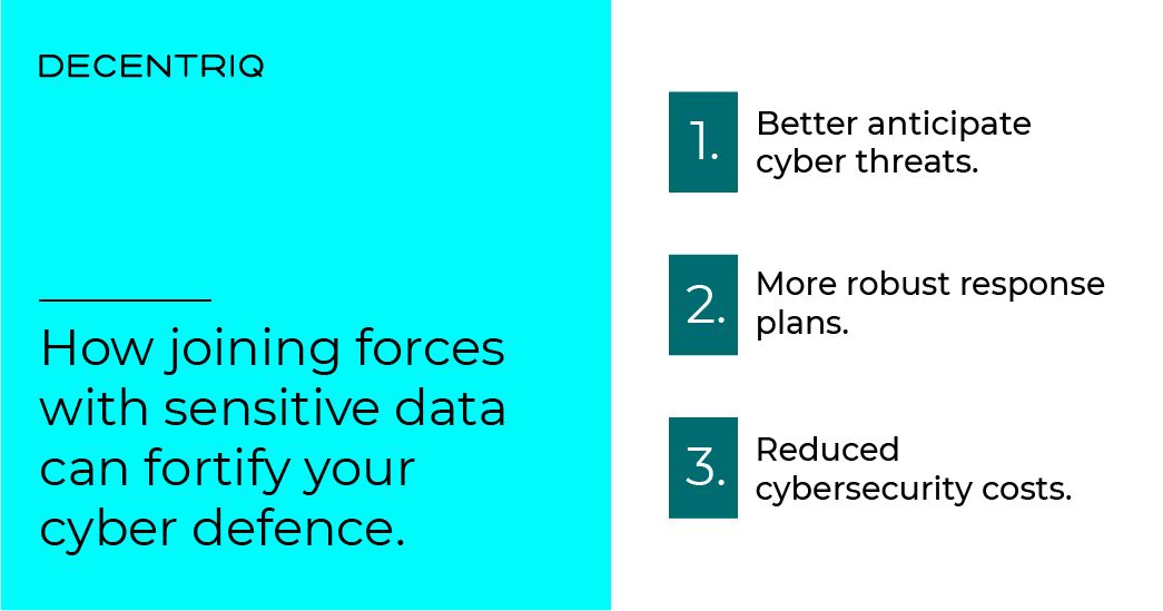 How joining forces with sensitive data can fortify your cyber defence