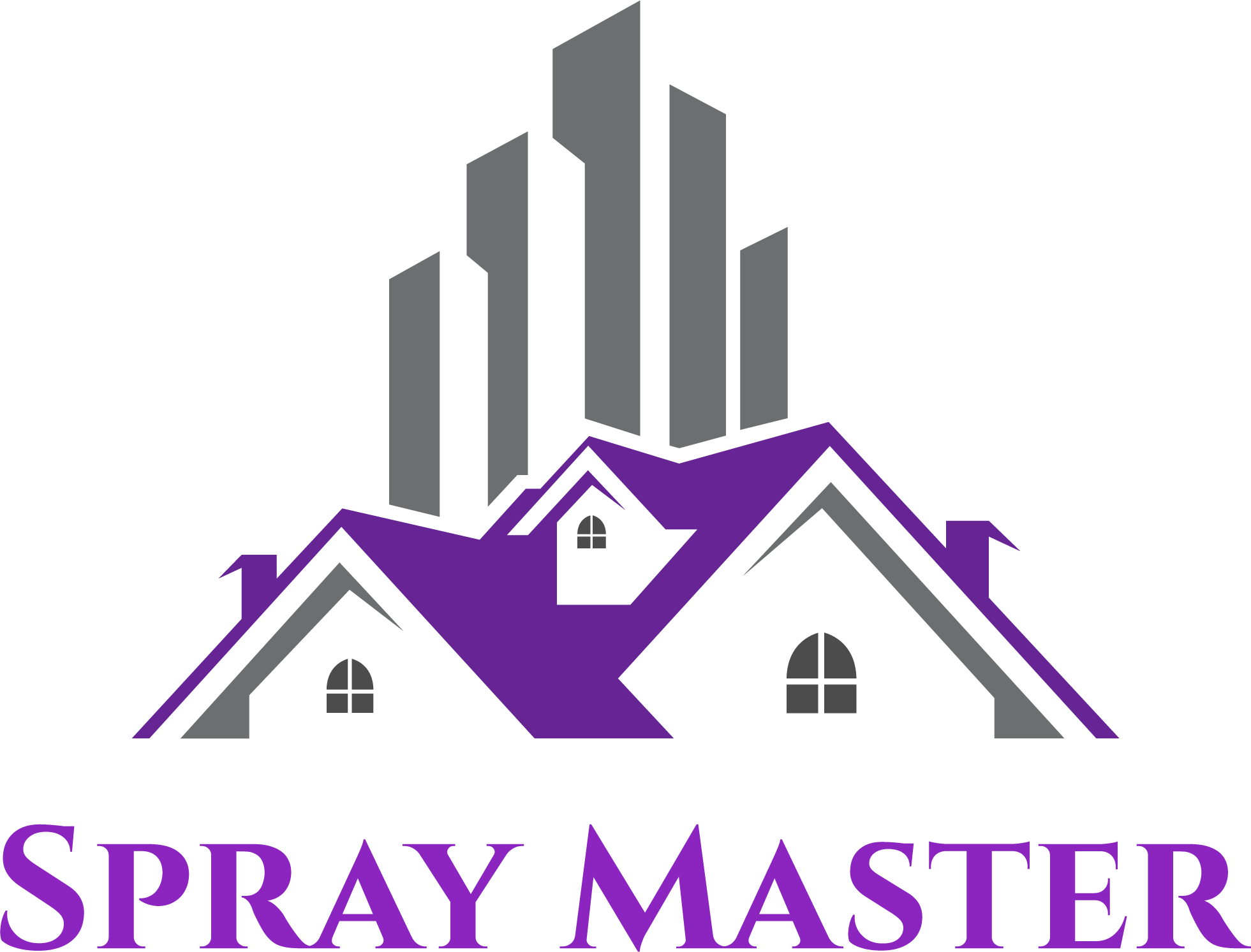Spray Master Home improvement experts in Montreal Logo