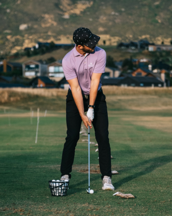 Use Golf Guru on the driving range
