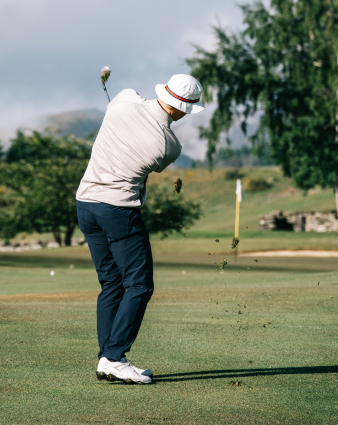 Use Golf Guru in the short game area