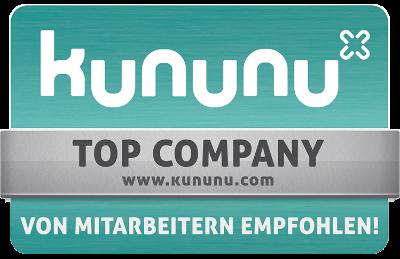 Auszeichnung kununu Top Company