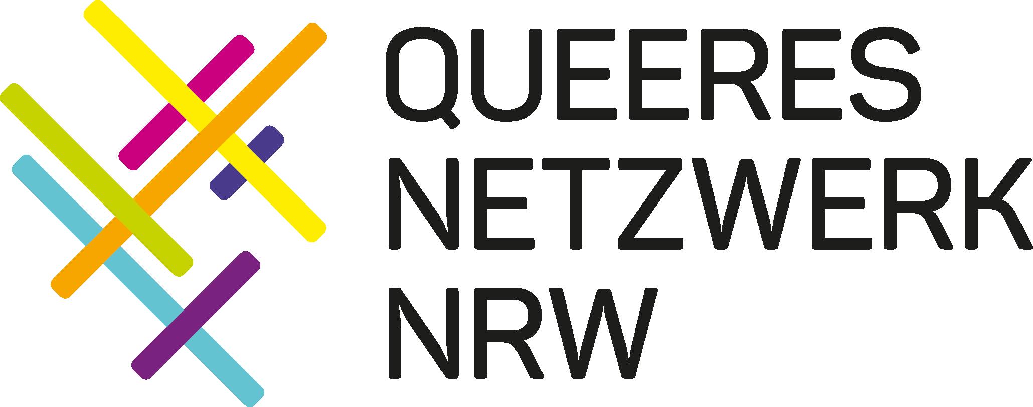 Logo: Queeres Netzwerk NRW