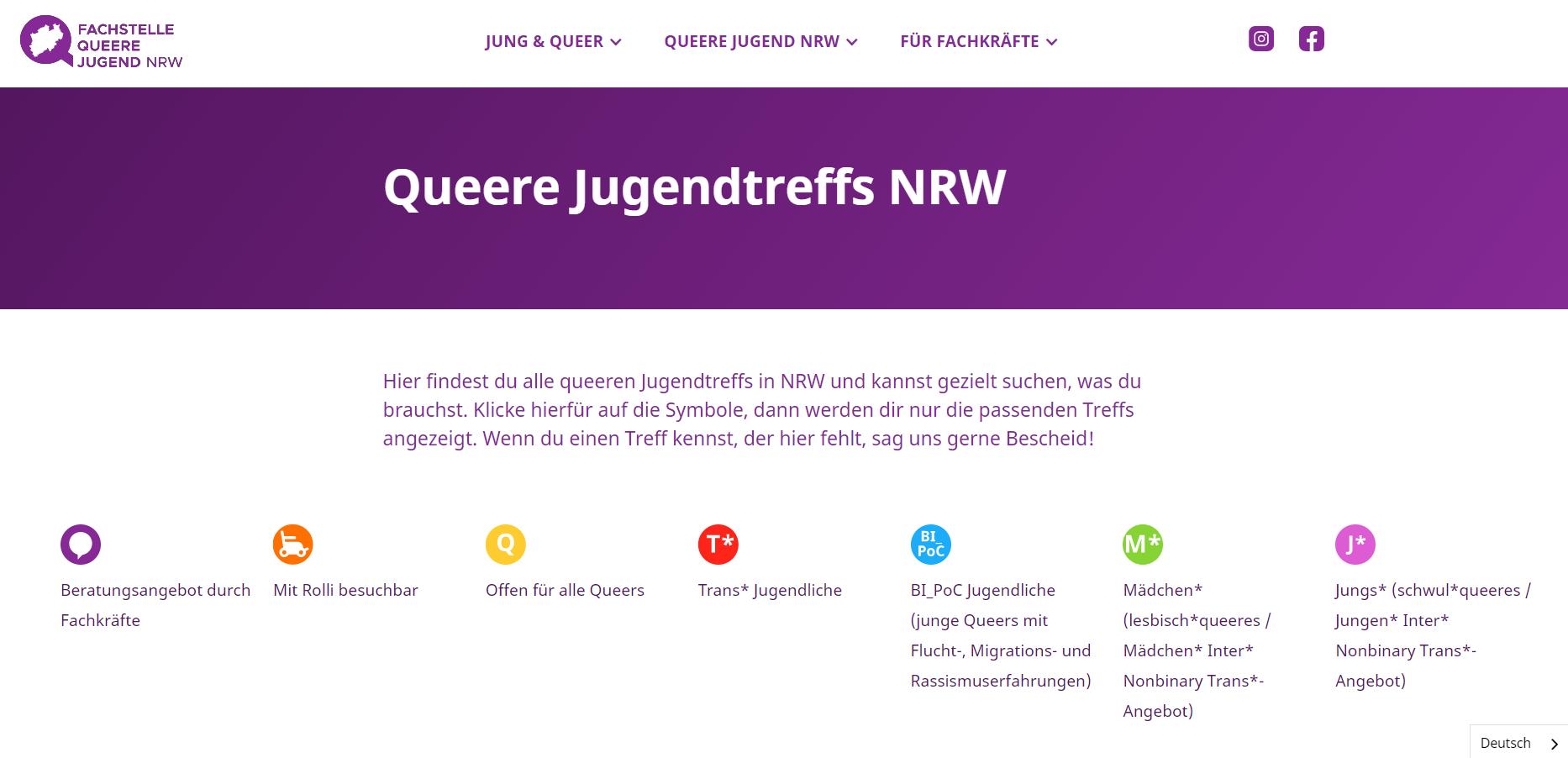 Vorschaubild Neue Website