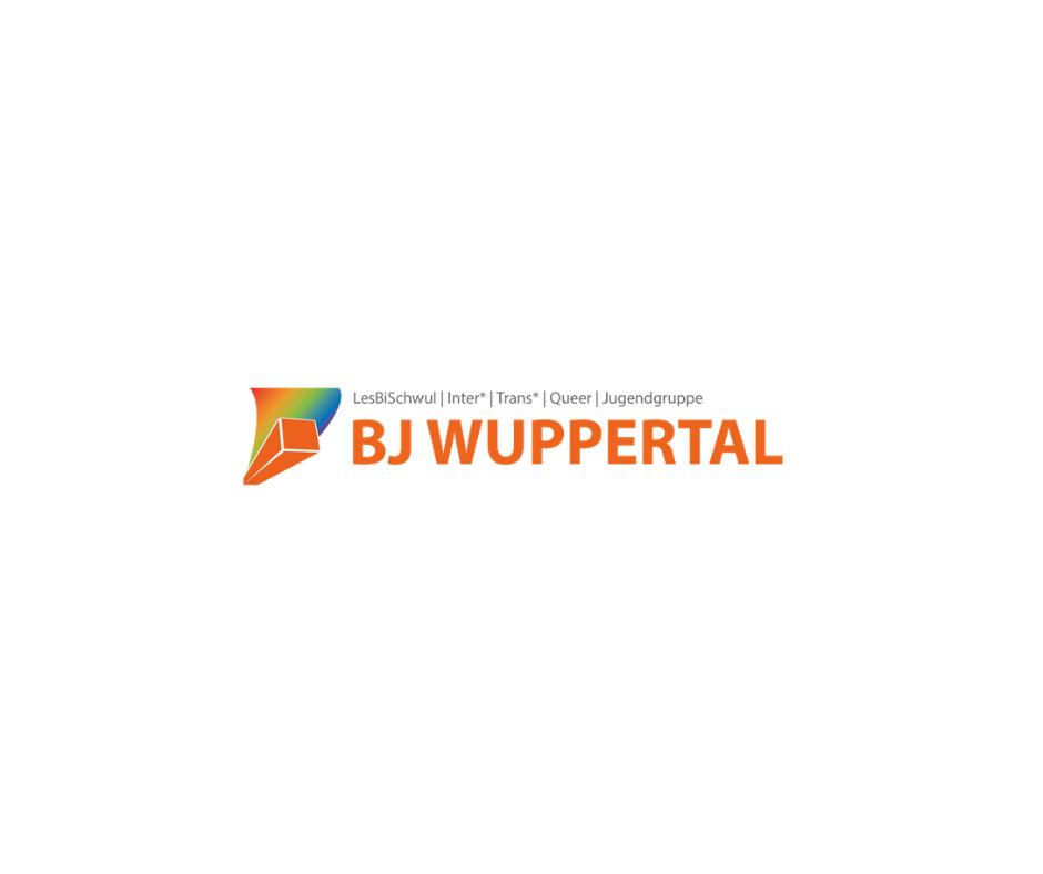 Das Bild zeigt das orangene Logo der Bj Wuppertal