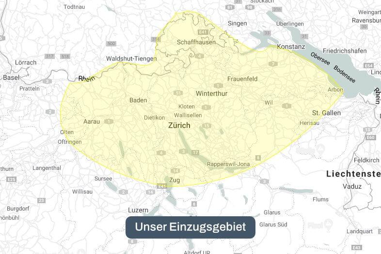 Zürich und Umgebung