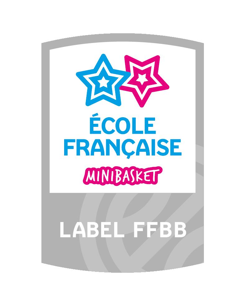 Label Ecole Française du Minibasket
