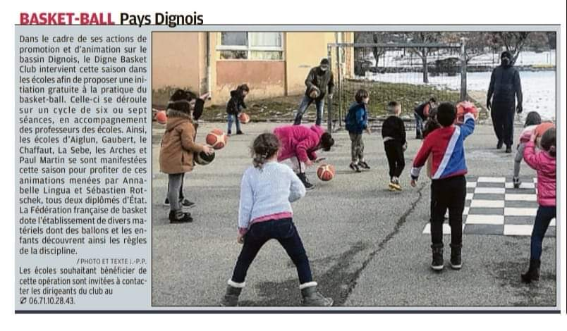 Basket-Ball Pays Dignois
