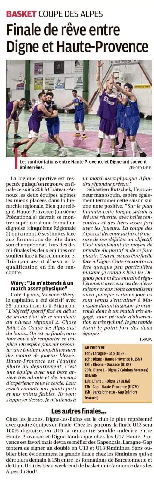 Finale de rêve entre Digne et Haute-Provence