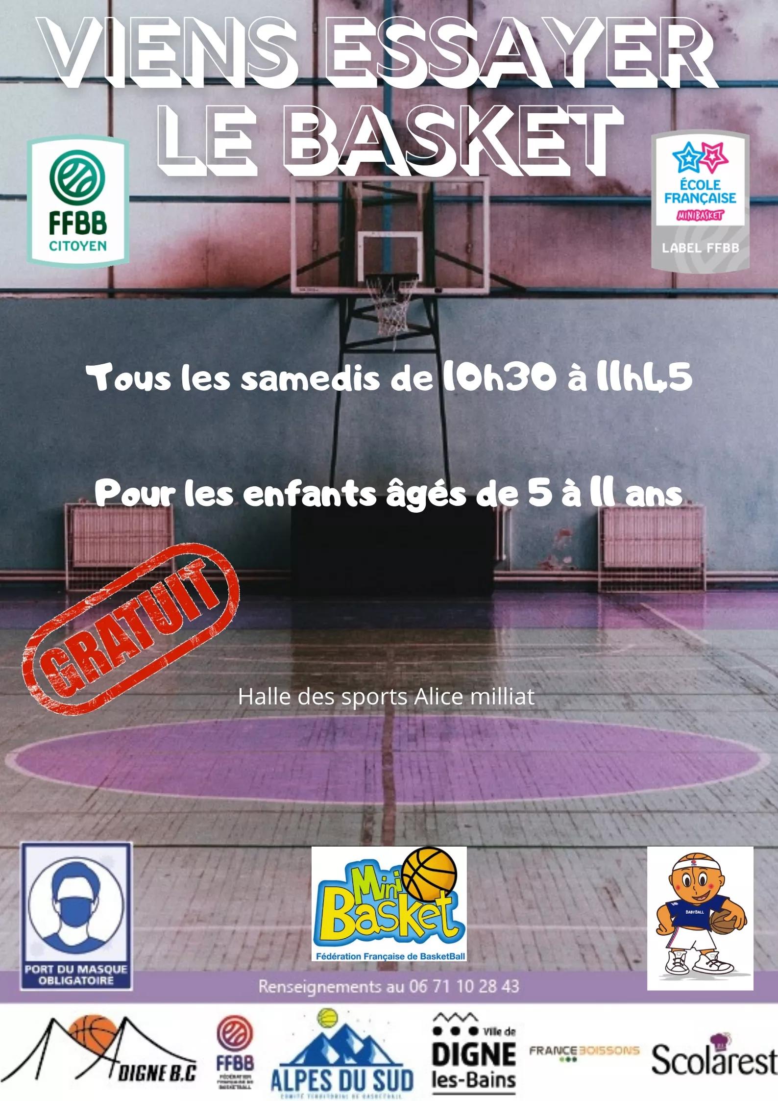 Viens essayer le basket !