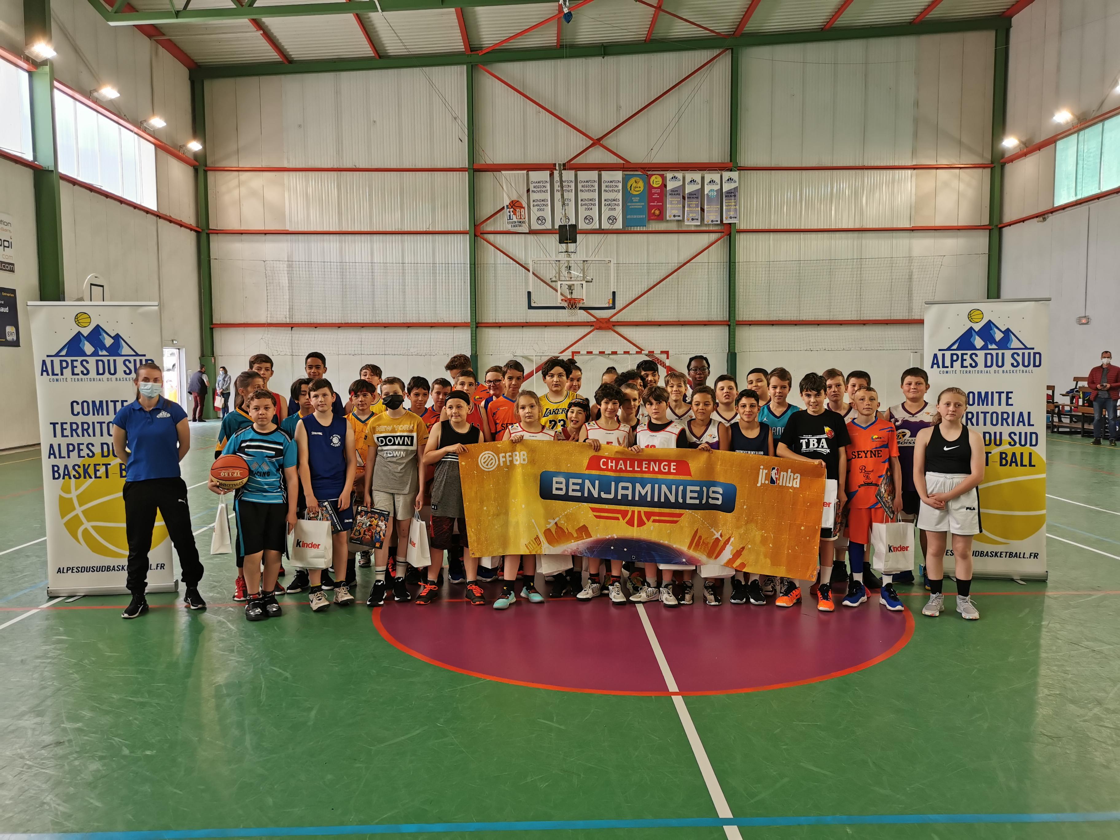 Challenge Benjamin(e)s 2021 : quatre dignois qualifiés pour la finale régionale