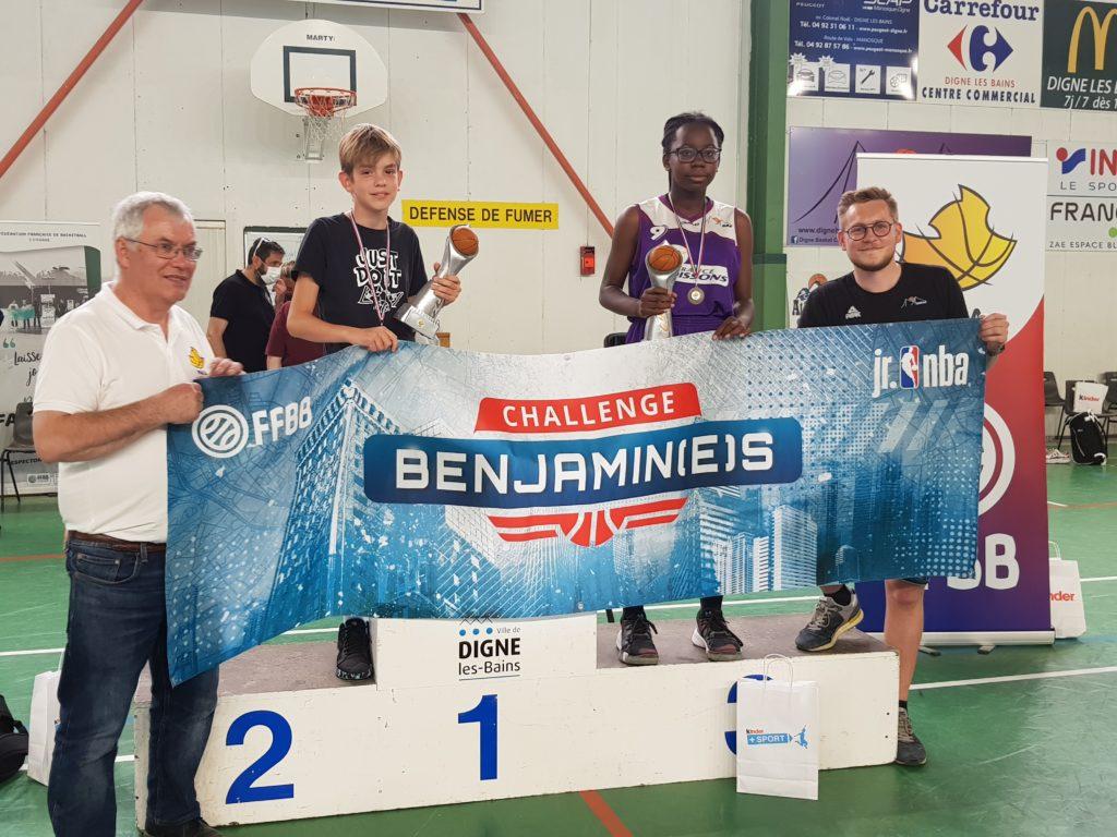 Challenge Benjamin(e)s 2021 : Sophie George remporte la finale régionale Provence
