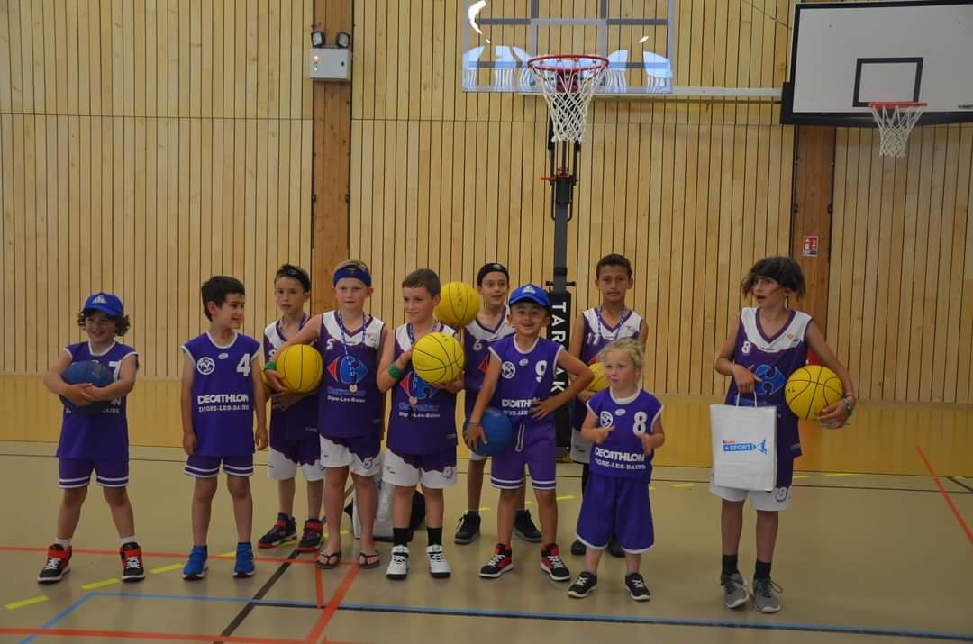 Les Mini Basketteurs en fête à Veynes