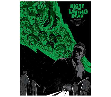 Moon Island Arts Official Night of the Living Dead Poster